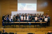 Participants in the Introduction to research competition (Foto: Miguel Martins)